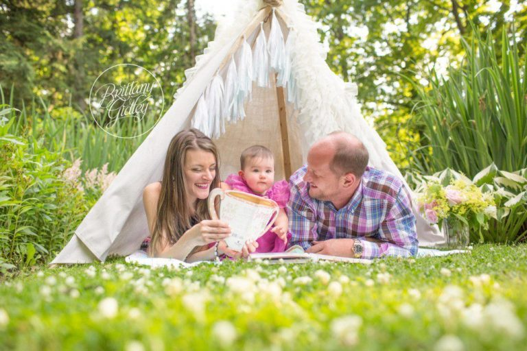 Teepee Photo Shoot | 12 Month Baby | Dream Session | Start With The Best | Cleveland Ohio | Baby Photographer | Baby Photography | Best Baby Photographer