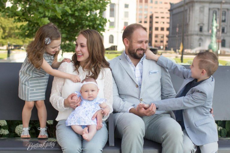 3 Month Baby | Family | Downtown Cleveland