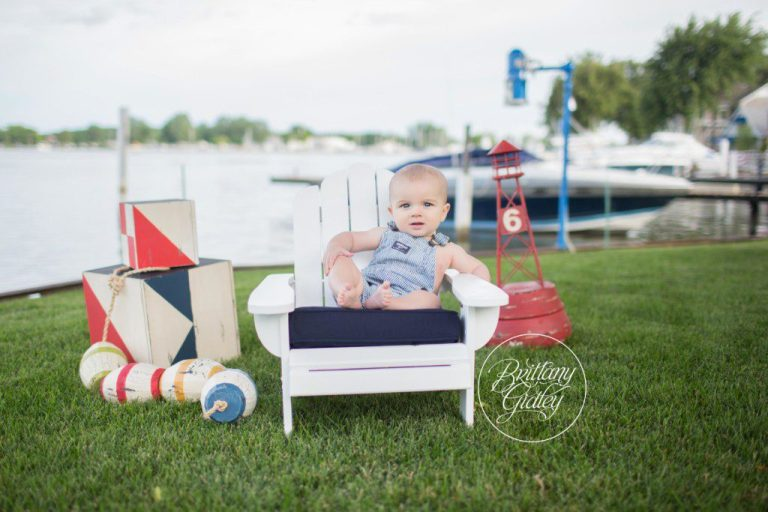 6 Month Baby | Nautical Theme