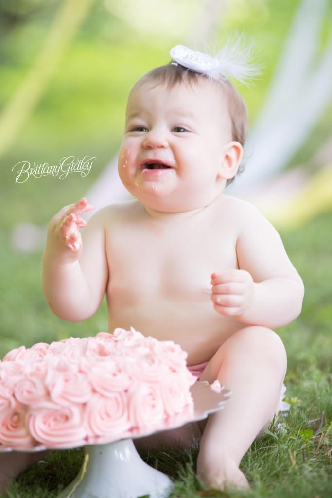 Candy Land Cake Smash | Noa 12 Months