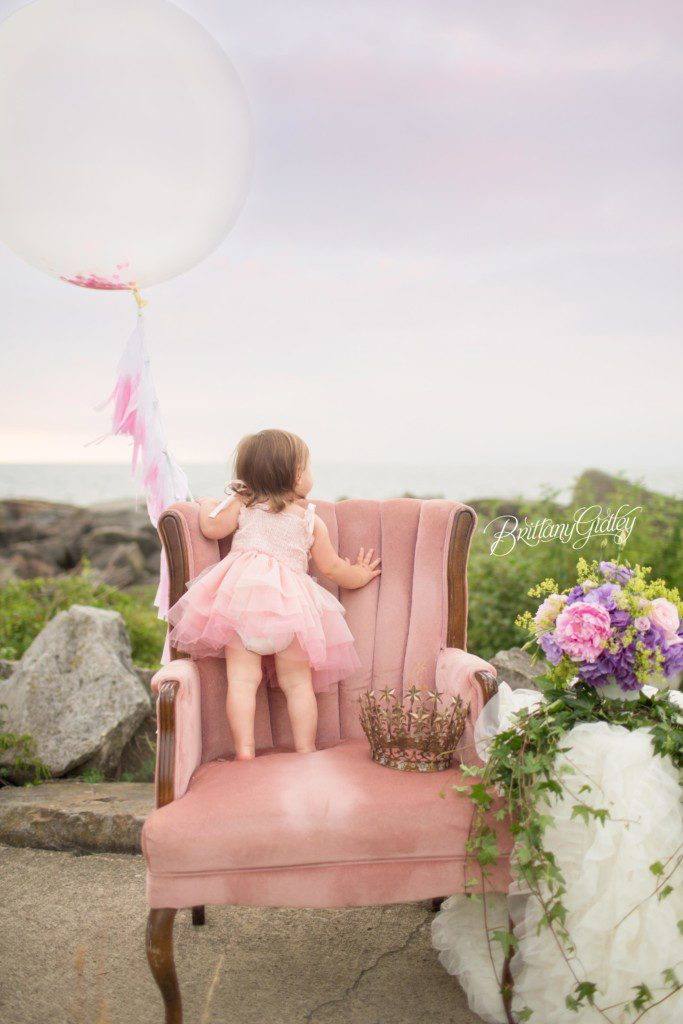 Carousel Horse Dream Session | Tea Party | Dreamy | Whimsical Baby Photography | Whimsical Baby Photographer | Cleveland Ohio | Brittany Gidley Photography LLC