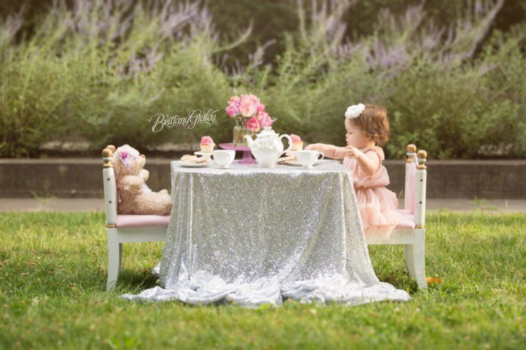 Cleveland Cultural Gardens | Tea Party | 12 Months | Baby Photographer