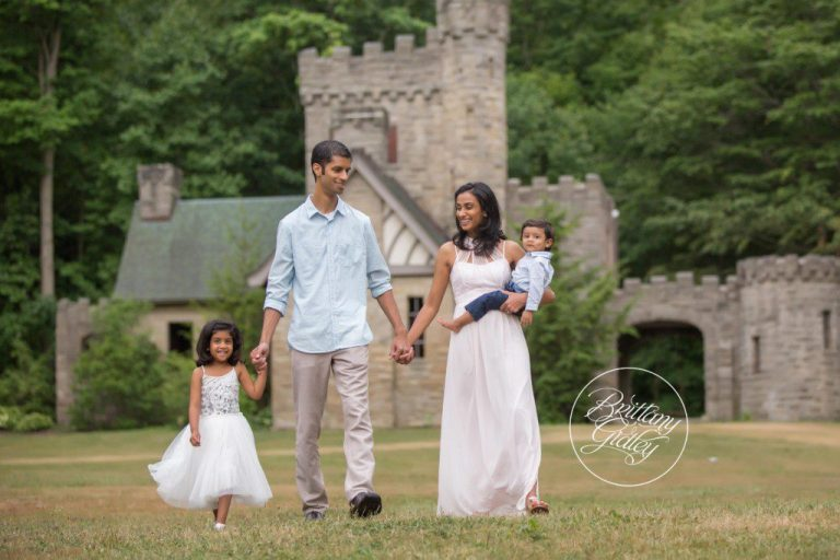 Squires Castle | Magical Family Photography | Castle | Cleveland Ohio | www.brittanygidleyphotography.com