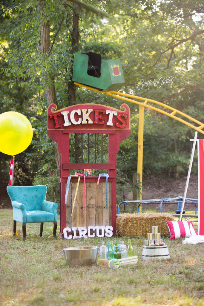 Circus Theme Dream Session | Circus Dream Session | Circus Photo Shoot