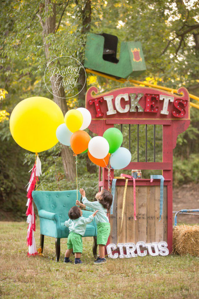 Circus | Circus Dream Session | Circus Theme Photo Shoot | Cake Smash | Baby Photographer | Baby Photography | Brittany Gidley Photography LLC