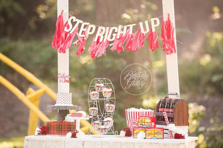 Circus Theme Dream Session | Circus Dream Session | Circus Photo Shoot | Dessert Stand