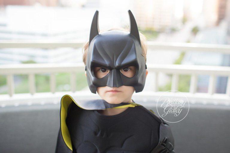 Batman | Superhero Training Camp | Start With The Best | Cleveland Ohio Child Photographer | Batman Photo Shoot