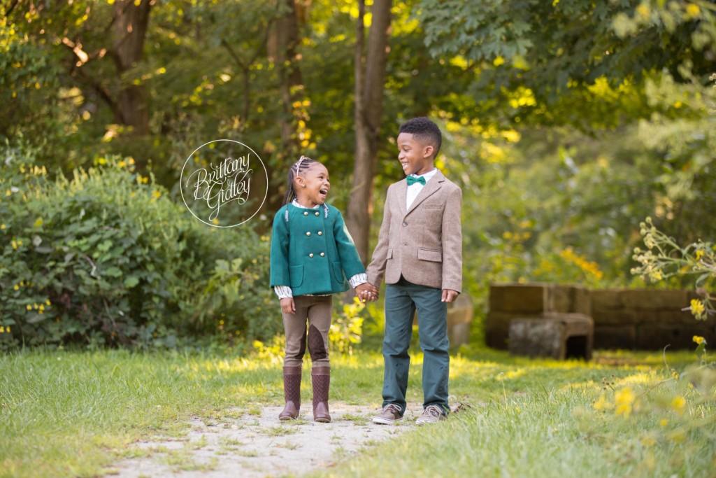 Cleveland Child Photographer | Tramon & Trinity | Everett Road Covered Bridge