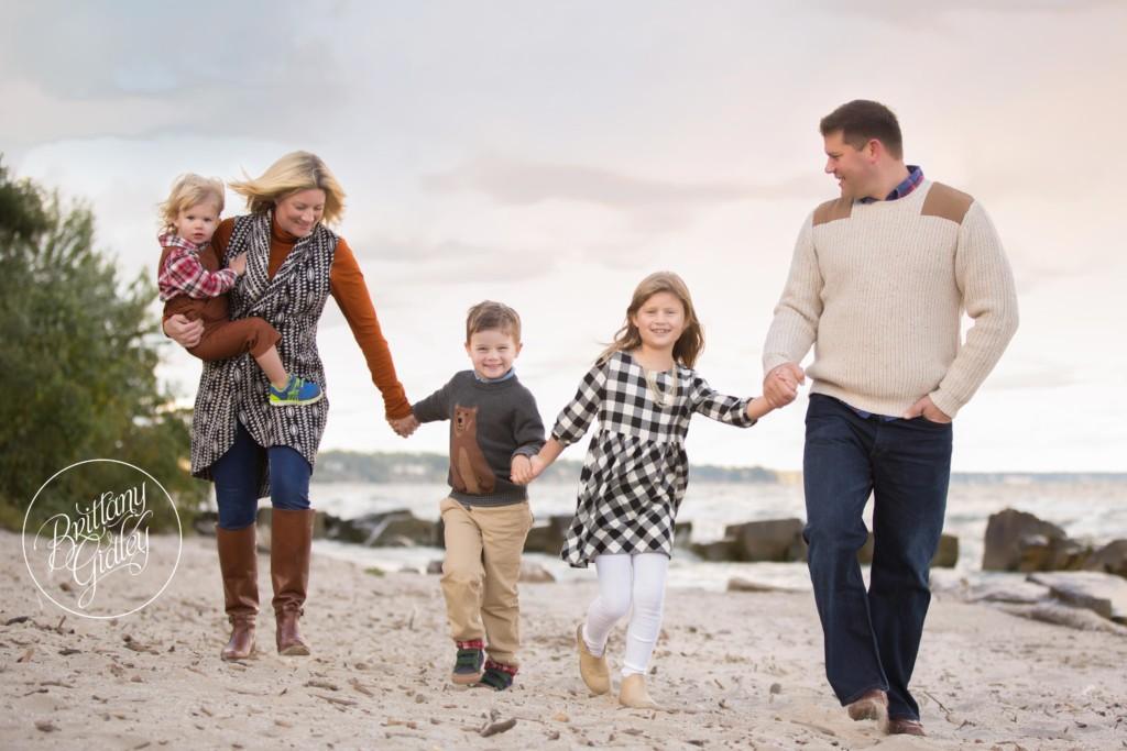 Fall Family Photographer | The Swartz Family | Rocky River Park