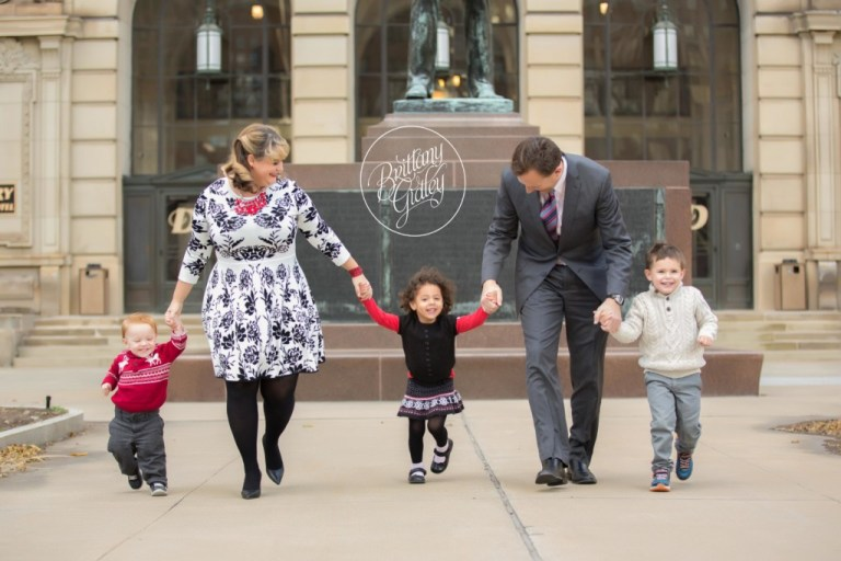 Family Photographer | Drury Hotel Cleveland | Downtown Cleveland