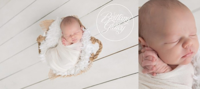 Newborn Baby Photography | Newborn Wrapping | Brittany Gidley Photography LLC