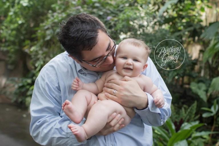 Cleveland Garden | Baby Photographer | Baby Photography | 6 Month Baby | Garden Baby Photography | 6 Months Old