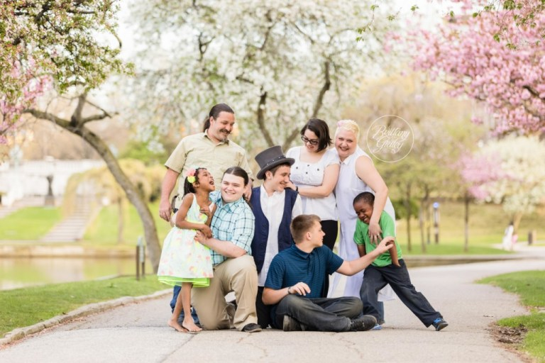 Cleveland Museum of Art | Cherry Blossom Photography | Family | Start With The Best | Family Photography