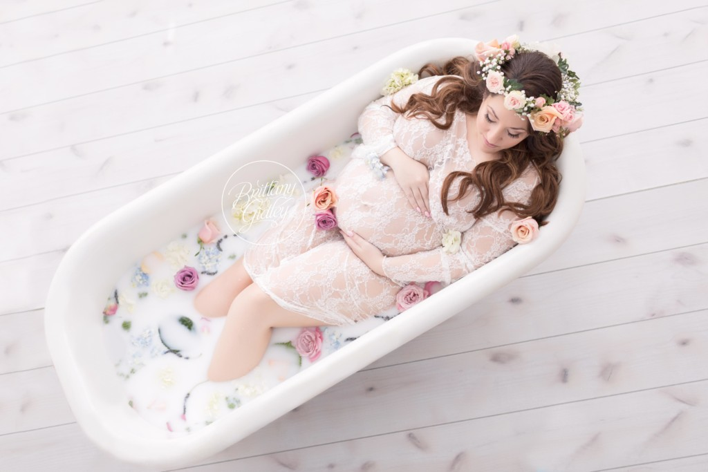 Milk Bath | Waiting on Baby B