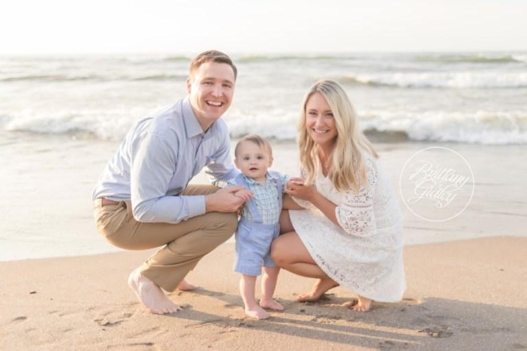Baby Beach Photographer   12 Month Baby   Cleveland Ohio   Edgewater Beach