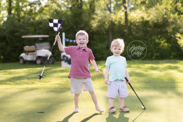 Child Golf Photo Shoot | Tee Time Dream Session | Family Photographer | Golf Pictures