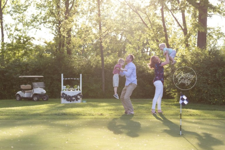 Golf Course Pictures Kids | Tee Time Dream Session | Family Photographer | Golf Pictures