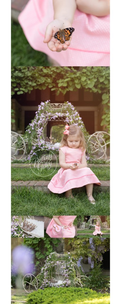 Secret Garden Photo Shoot | Butterfly Release | Butterfly Photography | Dream Session | Brittany Gidley Photography | Stan Hywet Hall & Gardens