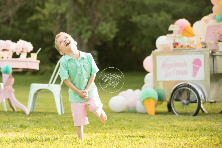Ice Cream Party | Ice Cream Themed Photo Shoot | Dream Session | One Stylish Party