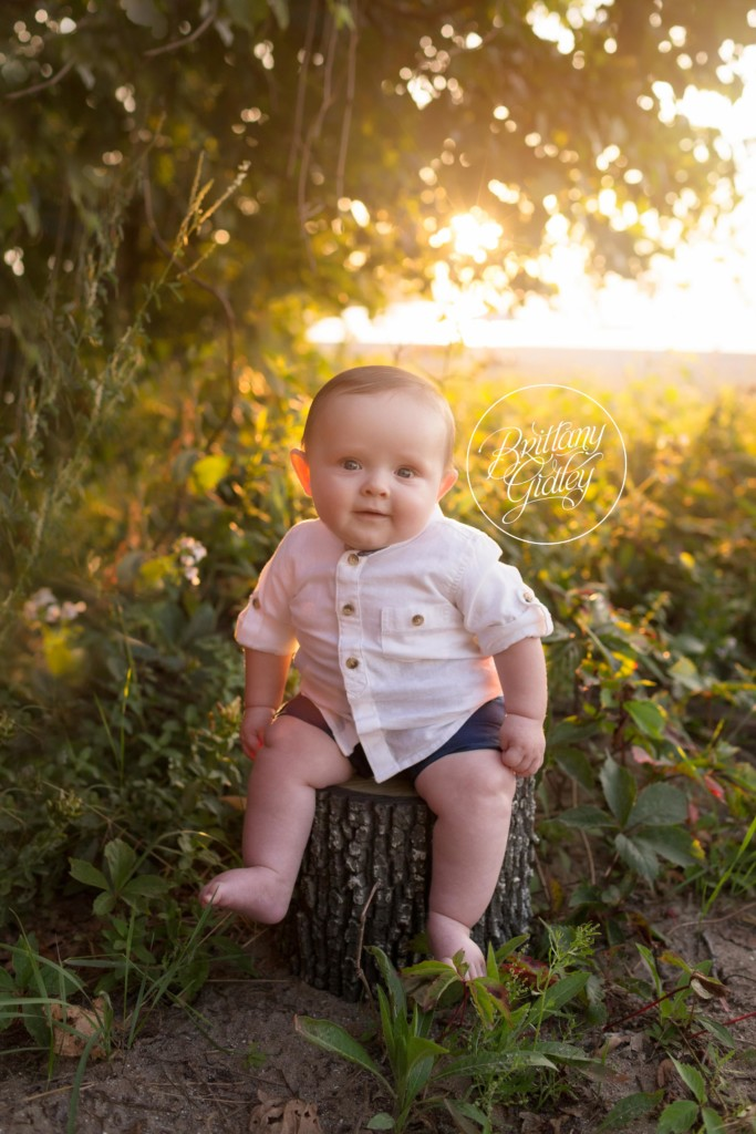 Beach Photo Shoot | Cleveland Ohio | 6 Month Baby Photo Shoot On The Beach | Family Pictures