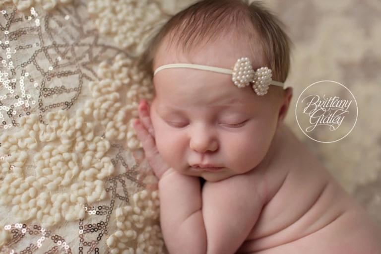 Rocky River Newborn Photography | Rocky River Newborn Photographer | Baby Girl Newborn Photos | Newborn Baby Girl | Brittany Gidley Photography LLC | Rocky River, Ohio