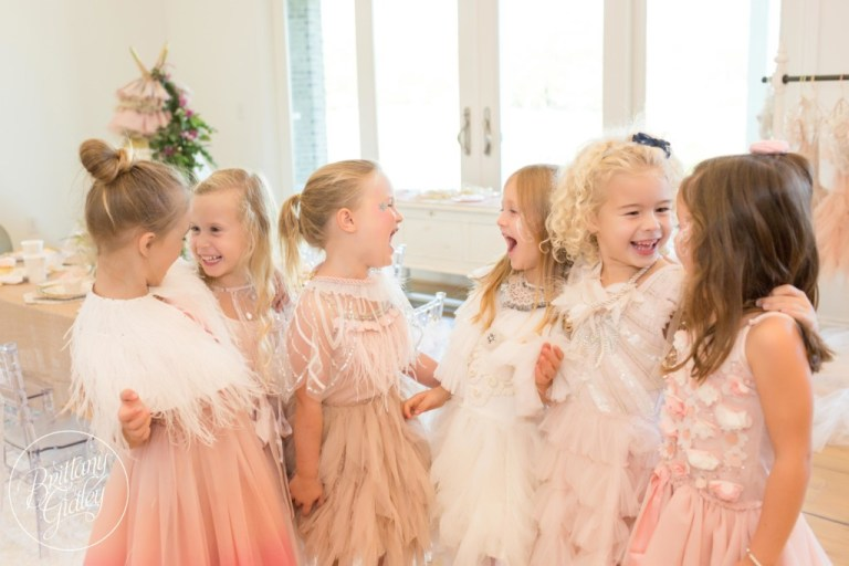 Pink and Gold Birthday Ideas | Ballerina Birthday Party | Swan Queen | Brittany Gidley Photography LLC