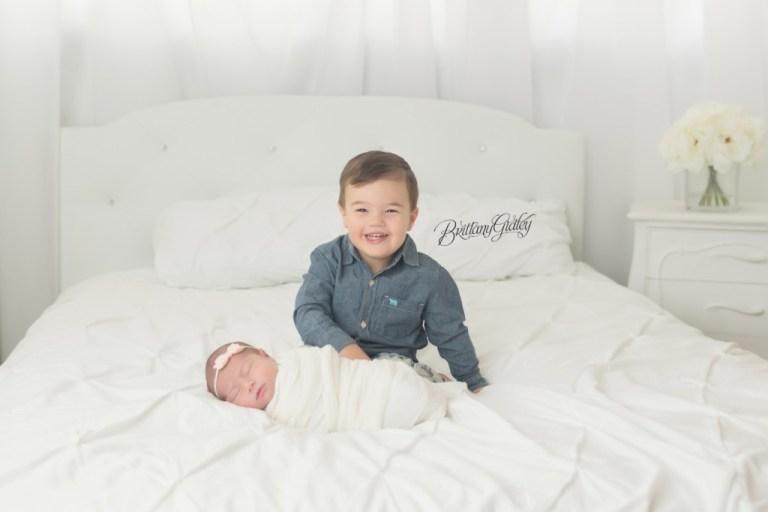 Medina Newborn Photographer | Medina Newborn Photography | Start With The Best | Newborn and Sibling
