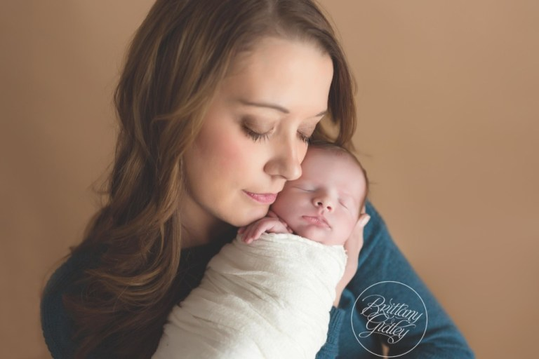 Mother and Son | Newborn Photographer | Cleveland Heights Ohio