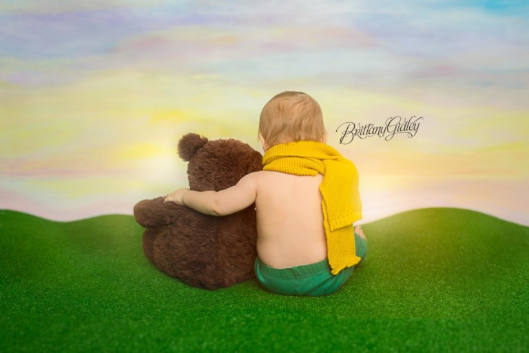 Molly Bear Sunset With Baby Photo   Le Petit Prince   The Little Prince