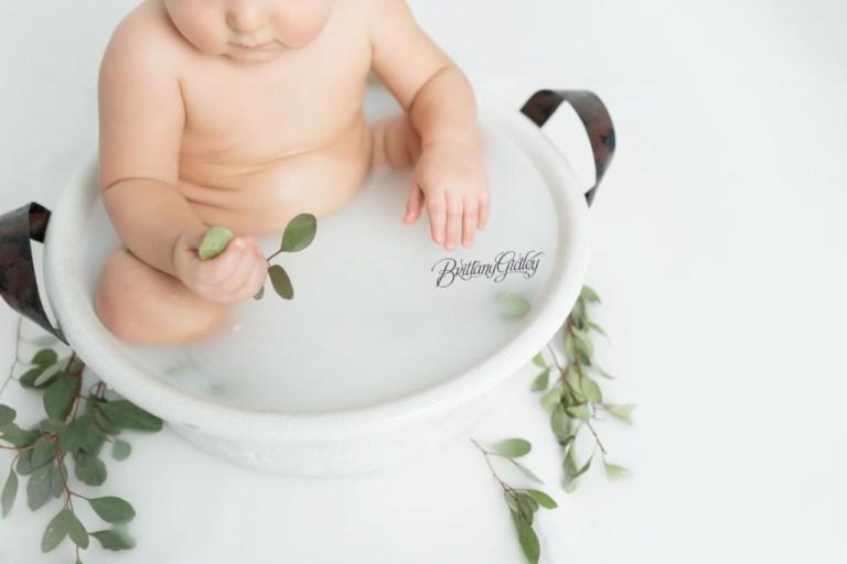 Baby Milk Bath Photography   Milk Bath Photo Shoot Baby