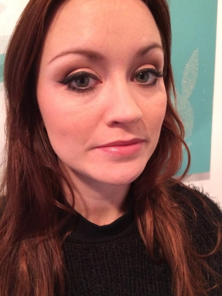 TV makeup artist for presenters