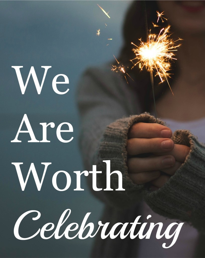 A celebratory word could mean the difference between tears of defeat and tears of joy. Of being pushed to the edge or being pushed to new heights. Let's celebrate one another. | TheNestedNomad.com