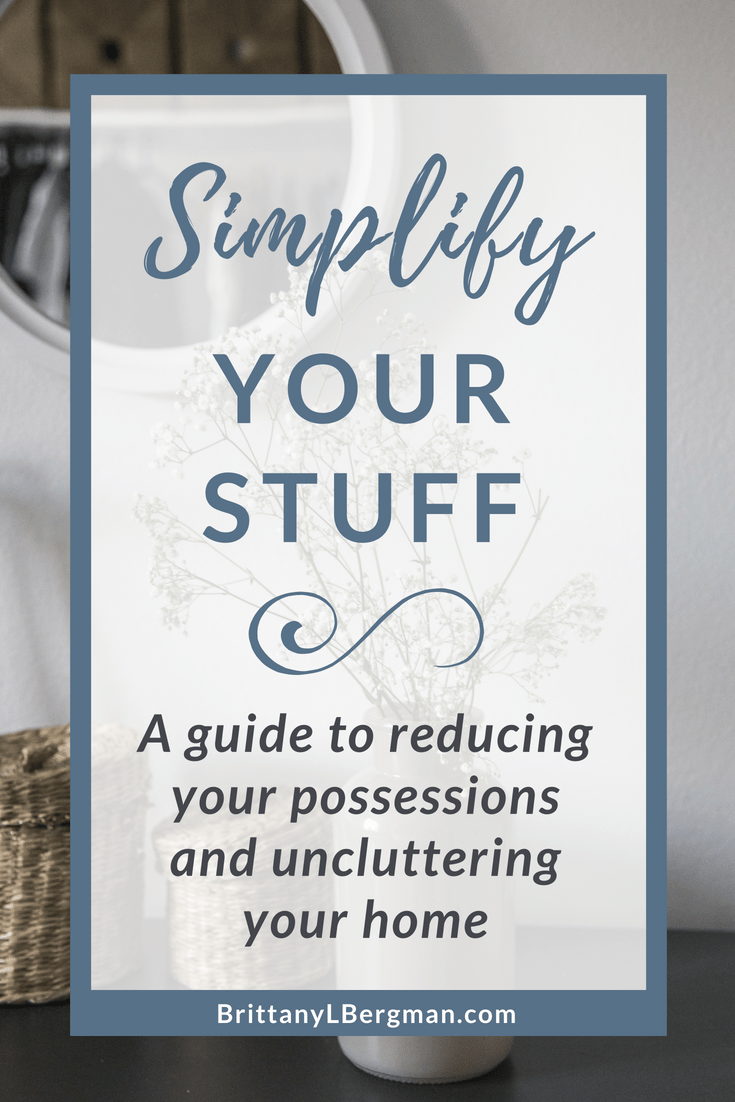 Do you feel like you're drowning in clutter? These 6 practices will help you simplify your possessions and breathe a little easier in your own home.