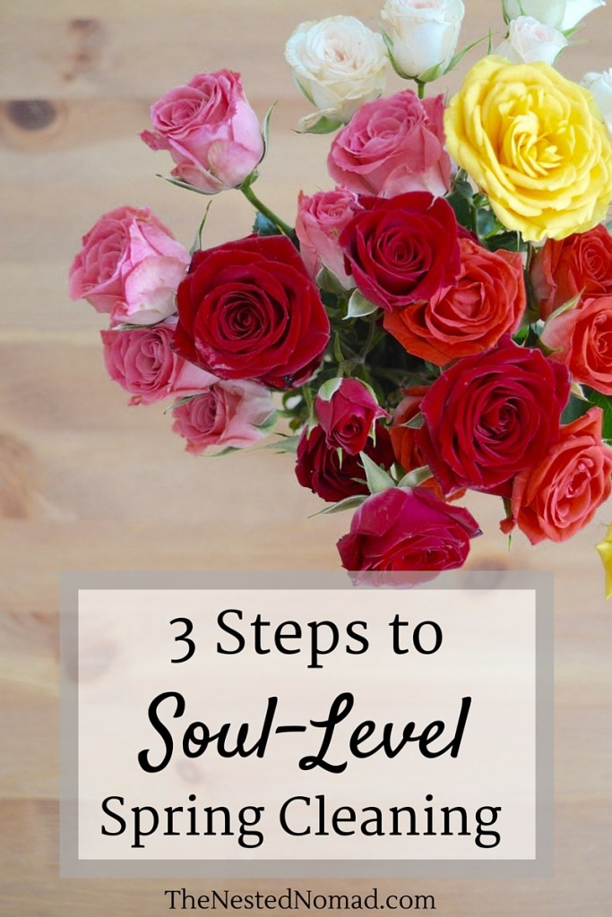 Is your soul weary after a dreary winter? These 3 small practices will help you dust off your heart and renew your soul.