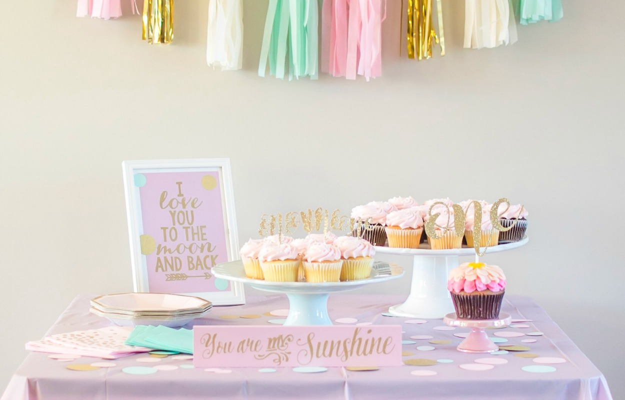 A (Sorta) Simple First Birthday Party | Brittany L. Bergman