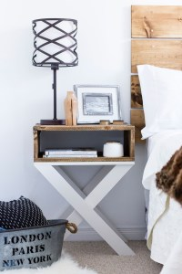 HDBlogSquad // DIY Nightstands & Headboard - Brittany Stager