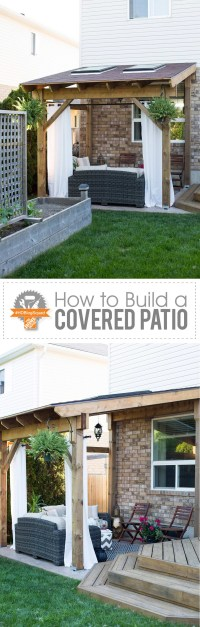 HDBlogSquad // How to Build a Covered Patio - Brittany Stager