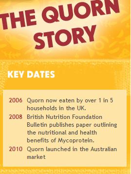 Quorn in Australia