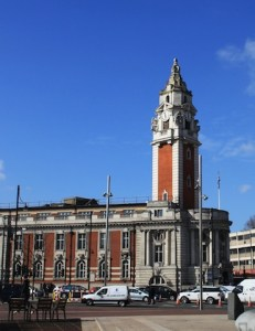Lambeth Town Hall, by Laura Spargo