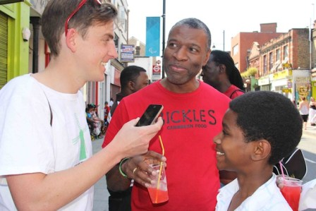 Danny Gayle from Bickles speaks to Tim Dickens