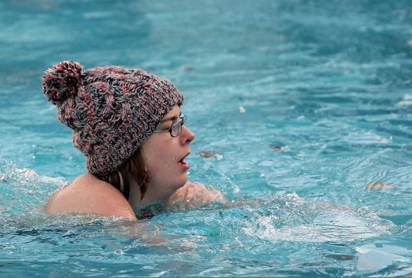winter swim