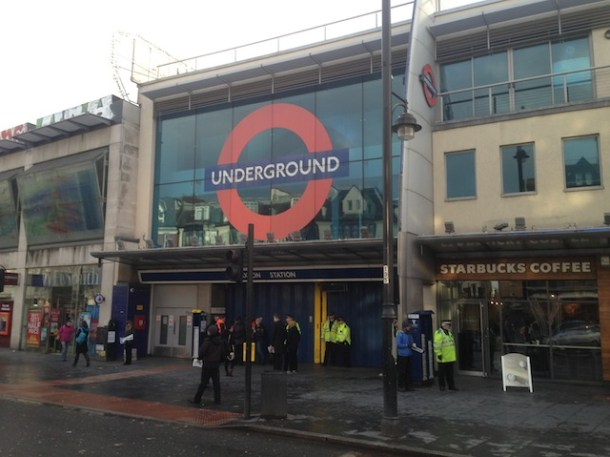tube strike station