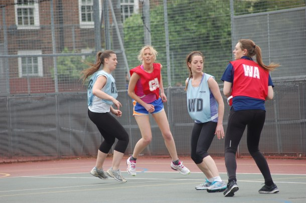 Netbusters players in action at Ferndale Community Centre (Photo: Brixton Blog)