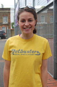 Netbusters league manager Amy McCluskey