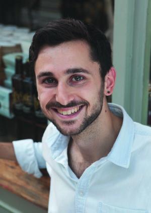 Local author Alex Christofi