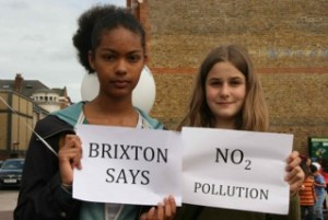 Brixton families and residents protest in September over high pollution levels