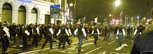 Police in Brixton