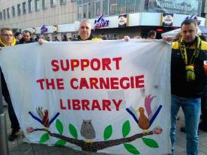Carnegie library supporters in Dortmund
