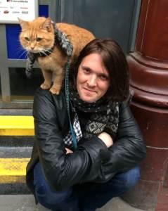 Fundraising for Ebony Horse Club: James Bowen and Streetcat Bob