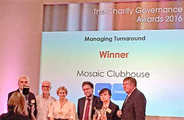 Mosaic prize ceremony